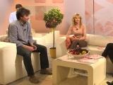 Pavel Řezníček a Lucie Hunčárová v Sama doma