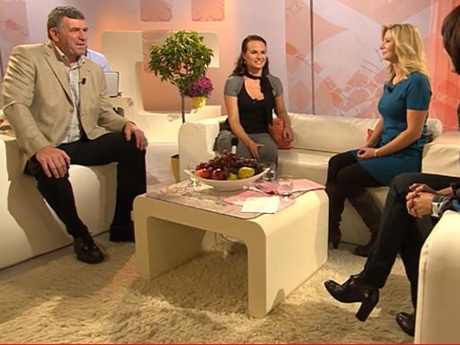 Imrich Bugár a Jitka Šorfová v Sama doma