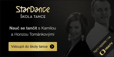 StarDance škola tance - nauč se tančit s Kamilou a Honzou Tománkovými