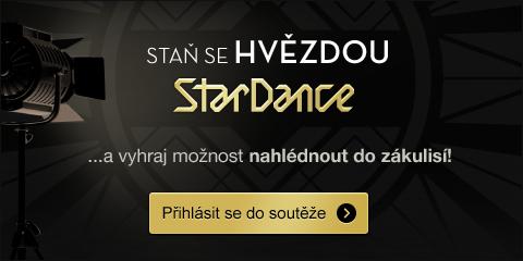 Staň se hvězdou StarDance a vyhraj možnost náhlédout do zákulisí