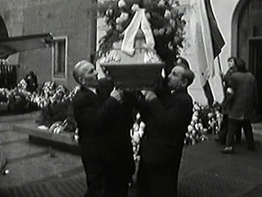 Zpohřbu Jana Palacha