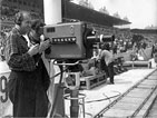 Kameraman na stadionu