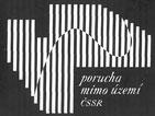 "logo ""porucha mimo území ČSSR"""