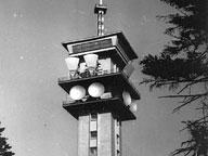 Nová televizní věž pro spojení sEurovizí na Klínovci