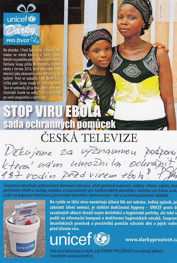 UNICEF – Dárky pro život