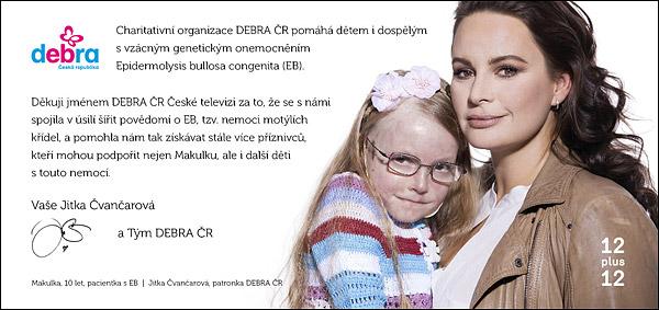 DEBRA ČR