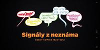 Signály zneznáma. Český komiks 1922–2012