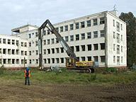 Areál v Brně-Líšni před zahájením stavby