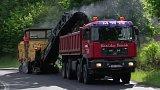 Opravy krajských silnic