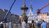 Oprava českobudějovického symbolu
