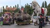 Obří loutky v Plzni