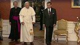 25 let od papežovy návštěvy