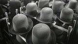 Výroba klobouků ze zaječí srsti (1955)