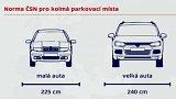 Velká auta, malá parkovací místa