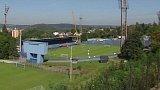 Demolice stadionu na Bazalech