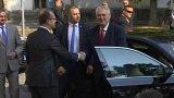 Prezident Miloš Zeman na Pardubicku