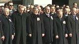 Pohřeb obětí bombového útoku v Turecku