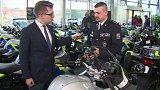Nové motocykly pro dopravní policii