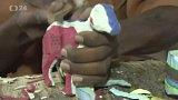 Sošky vyřezávané z gumových sandálů