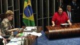 Senát odvolal brazilskou prezidentku + rozhovor s D. Koubkem