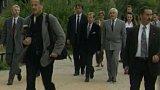 Návštěva V. Havla v kladenské škole (1996)