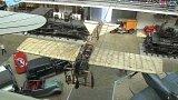 Kašparova letecká exhibice na Proseku