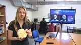 Rekonstrukce podoby hlavy dívky ze starověkého Egypta