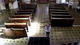 Drony mapovaly kostel sv. Mikuláše