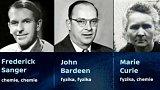 Nobelova cena: historie a statistiky
