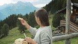 Káča v Alpách