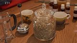 Předjarní očistný čaj a rakytníková šťáva s medem