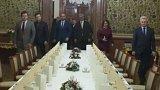 Společná večeře šéfů parlamentních komor