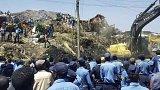 Sesuv skládky v Etiopii