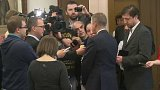 Reakce premiéra Sobotky ke koaliční krizi