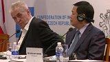 Prezident a čeští podnikatelé ve Vietnamu