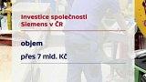 Investice společnosti Siemens v ČR