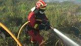 Ničivé požáry v Portugalsku