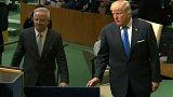 Projev Donalda Trumpa před Valným shromážděním OSN