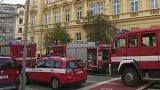 Výbuch kyslíkové lahve v Brně