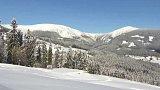 Přípravy na první lyžování