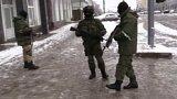 Zahalení ozbrojenci na Ukrajině