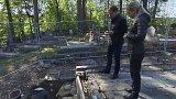 Průzkum ve vyhořelém kostele