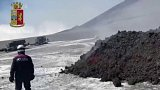 Erupce Etny zranila 10 lidí