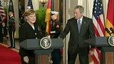 Angela Merkelová v USA