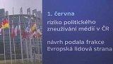 EU a politické turbulence v Česku - zneužívání médií v ČR