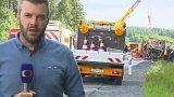 18 mrtvých po nehodě v Německu