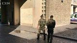 Útok na vojáky ve francii
