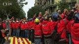 Katalánsko ochromily protesty