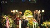 Lidé se rozloučili s Květou Fialovou