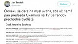 Klíč zvaní hostů do předvolebních diskuzí na TV Barrandov
